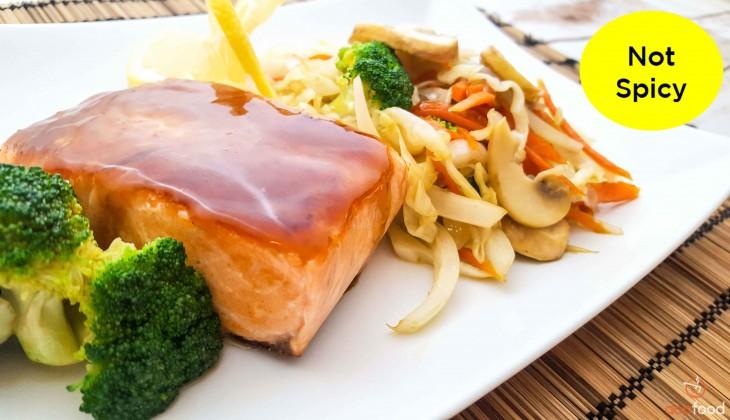 Salmon teriyaki (연어테리야키)