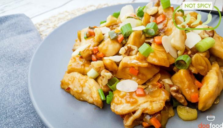 Garlic chicken (안튀긴깐풍기)