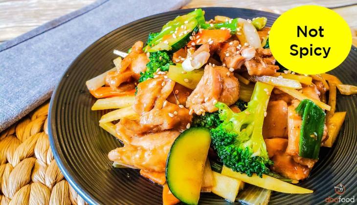 Chicken teriyaki (치킨테리야키)