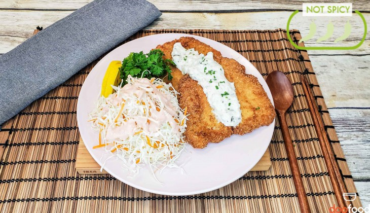 Korean fish cutlet (생선까스)