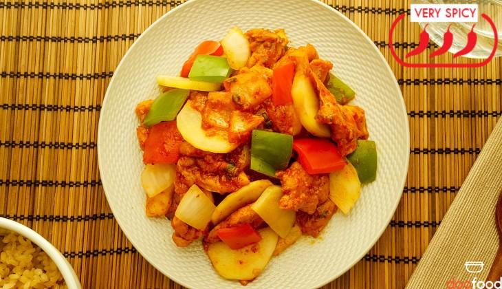 Spicy chicken (불닭구이)