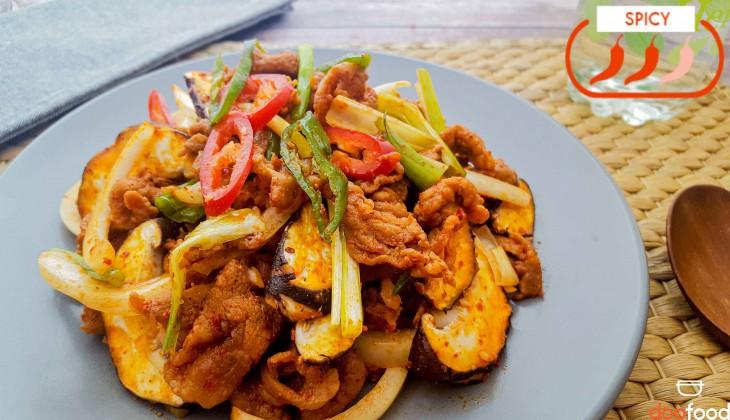 Spicy pork BBQ (제육볶음)
