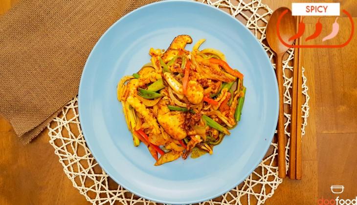 Spicy Squid (오징어볶음)