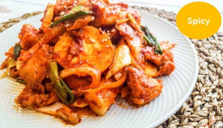 Chun cheon chicken (춘천닭갈비)