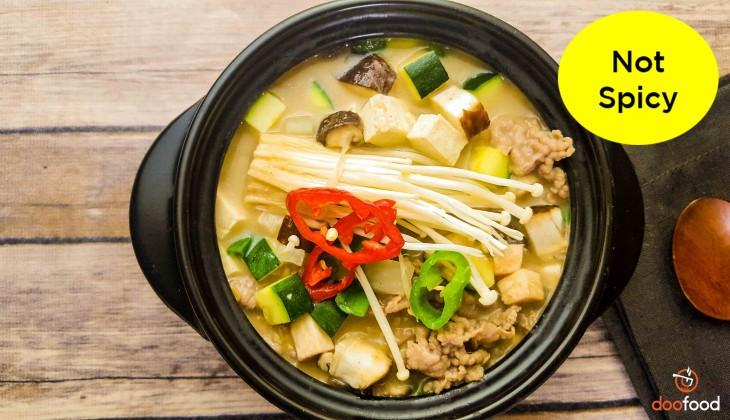 &nbspSoybean stew (된장찌개)