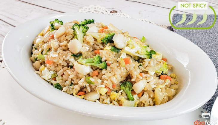 Scallop fried rice (스켈럽볶음밥)